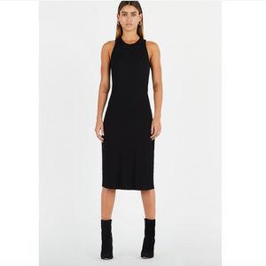 Cotton On Bodycon Sleeveless Midi Dress in Black